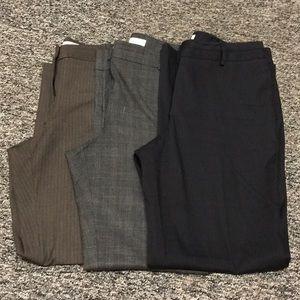 3/$25 Bundle The Loft Dress Pants
